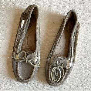 Sperry Top-Sider Leather Boat Shoes Size 9